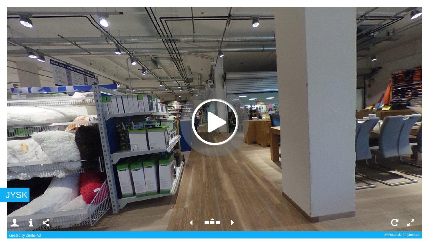 Virtueller Besuch JYSK